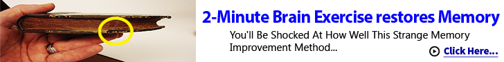 2-minute brain exercises to reverse memory loss.