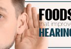 Eat these foods to improve hearing and prevent hearing loss.