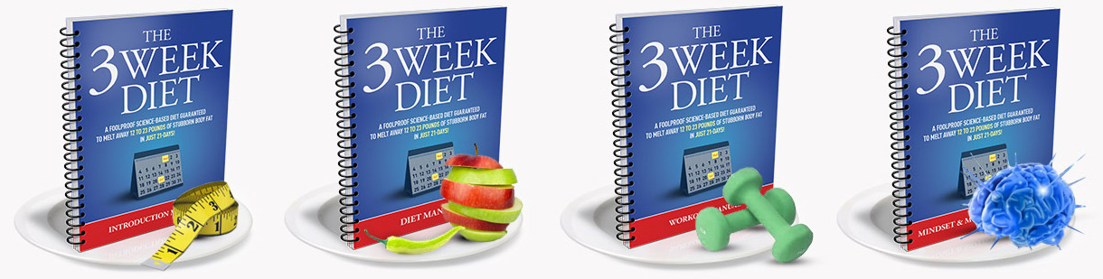 3 week diet ebook manuals