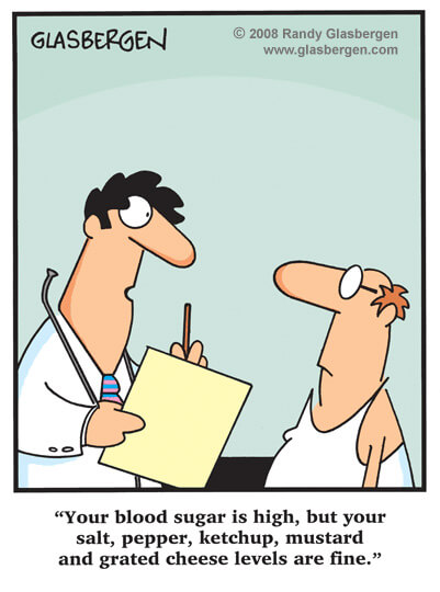 Funny Cartoon About Diabetes