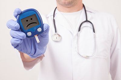 Monitoring blood sugar for diabetes