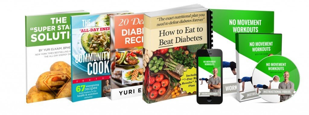 The Defeating Diabetes Kit By Yuri Elkaim