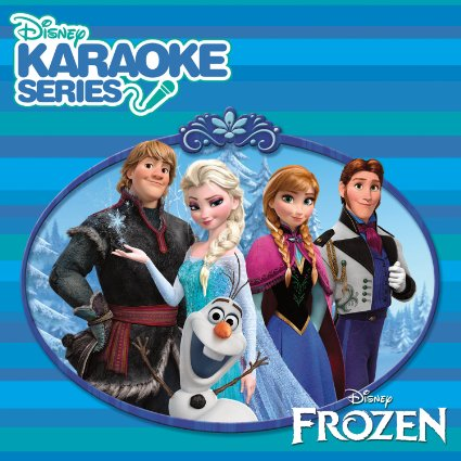 Karaoke Frozen CD by Disney