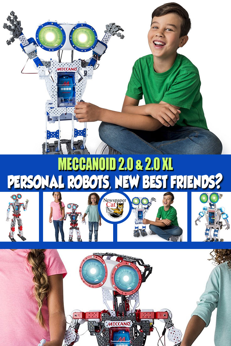 Review Of The Meccano Meccanoid 2.0 & 2.0 XL - Awesome STEM Gift Idea