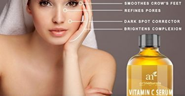 Vitamin C Anti Aging Anti Wrinkle Serum By Art Naturals