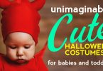 The cutest and most adorable baby and toddler Halloween costumes ever!