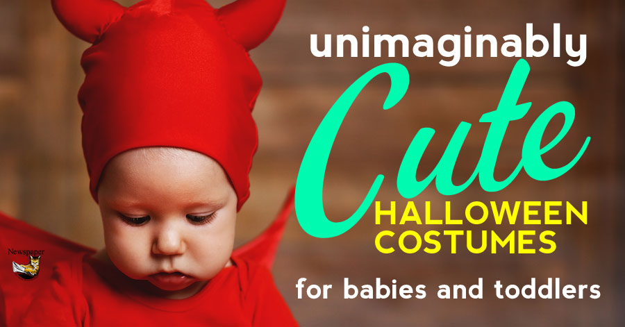 the cutest and most adorable baby and toddler halloween costumes ever