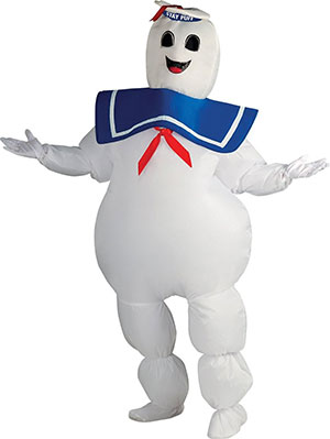 Inflatable Stay Puft Marshmallow Man Costume by Rubies  sc 1 st  Newspaper Cat & Sweet And Deadly! Ghostbusters Inflatable Stay Puft Marshmallow Man ...