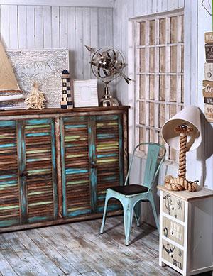 Interior Design In Shabby Chic Style