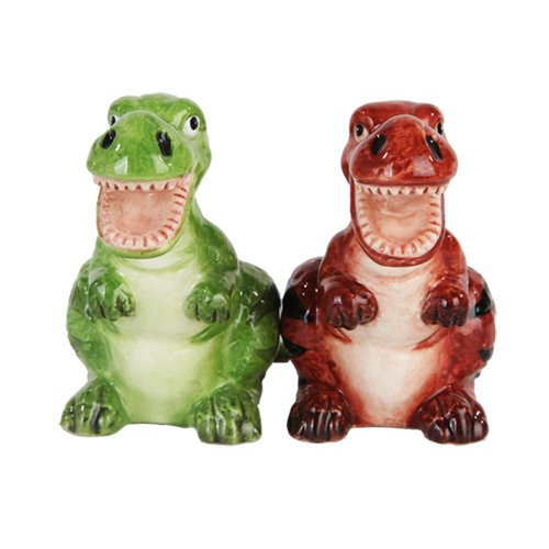 I Found These Magnetic Dinosaur Salt And Pepper Shakers Here U2013 What A Great  Addition To Any Dinosaur Themed Kitchen!