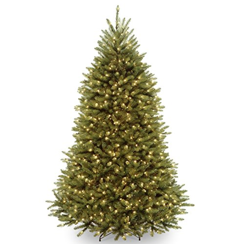 National Tree 7 1/2 Ft Dunhill Fir Tree Found Here U2013 Very Pretty With Lots  Of Size And Lighting Options To Choose From. The Shape Kind Of Makes It  Look Like ...