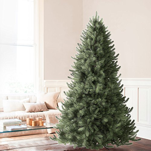 balsam hill vermont white spruce premium artificial christmas tree 45 feet unlit found here last on my list of realistic fake christmas trees is - 10 Foot Christmas Tree