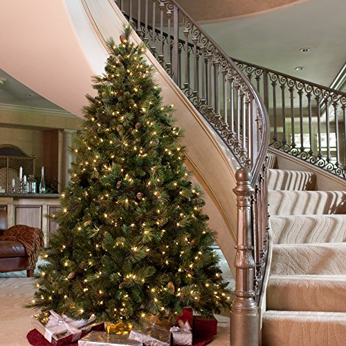 carolina pine full pre lit christmas tree found here this is one of the most realistic artificial christmas trees with easy assembly - Full Artificial Christmas Trees