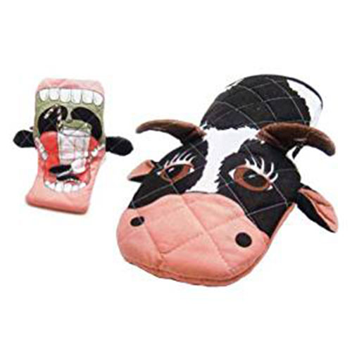 Novelty Oven Mitts - Cow Oven Mitt
