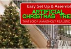 The Most Realistic And Easiest Artificial Christmas Trees To Set Up And Assemble