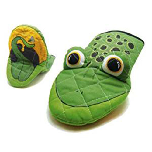 Animal Head Frog Oven Mitt