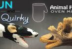 Fun And Quirky Animal Head Oven Gloves And Oven Mitts