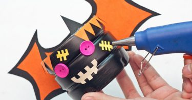 Cute Halloween Basket Ideas DIY - Step 14 - Add Additional Designs
