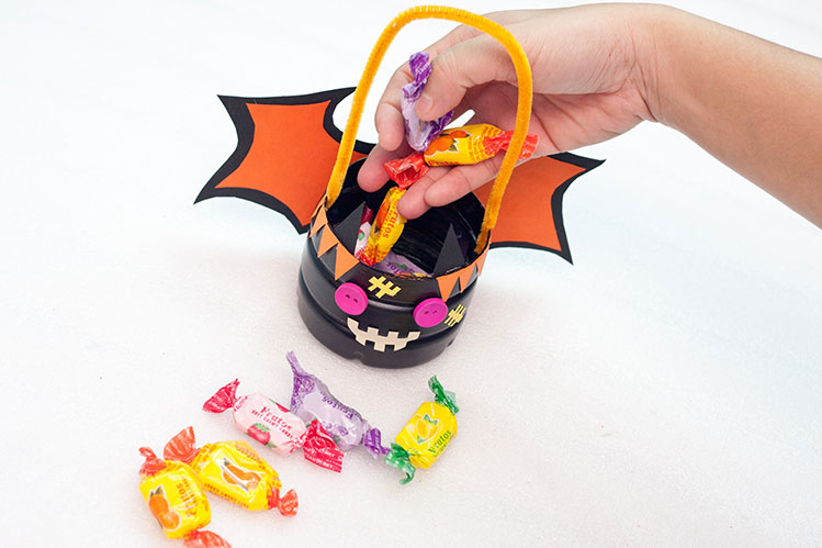 DIY Trick Or Treat Baskets - Step 16 - Go Trick Or Treating
