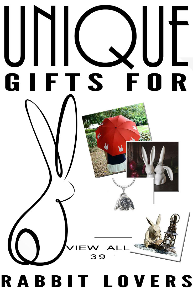 Best unique gifts and gift ideas for rabbit lovers and bunny 39 unique gifts for rabbit lovers negle Image collections