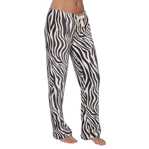Gift Ideas For Zebra Lovers - Zebra Print Pajama Pants