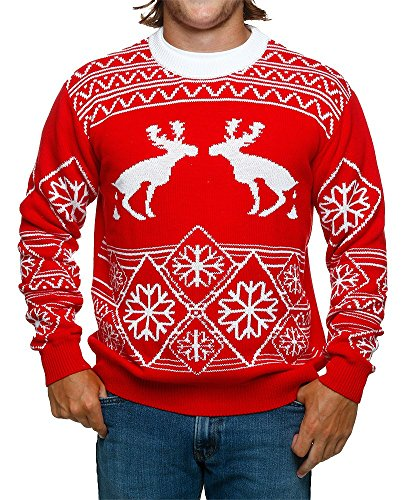 pooping moose ugly christmas sweater found here