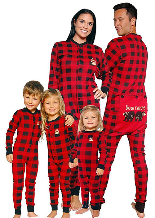 Matching Family Bear PJs