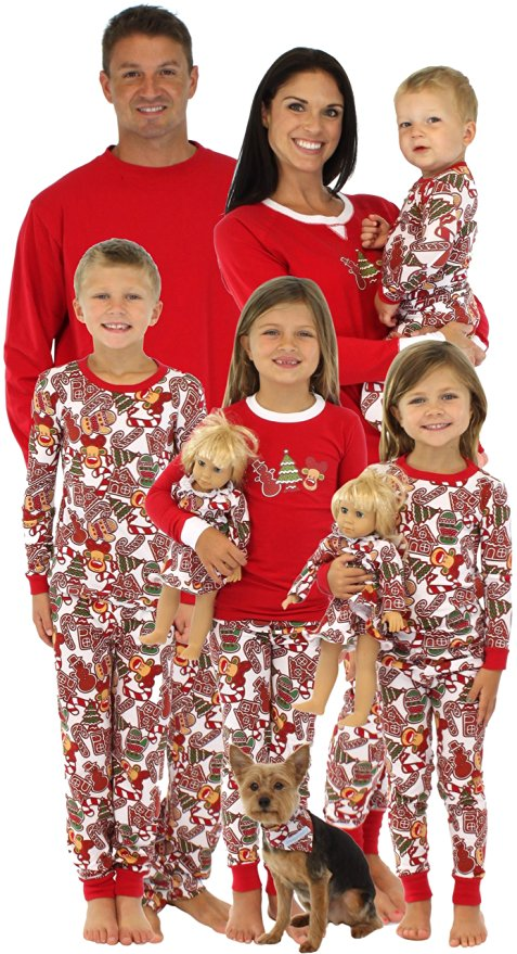 Christmas Holiday PJs For The Family