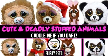 Feisty Pets Review - Cute And Deadly Plush Animals - Cuddle Me If You Dare