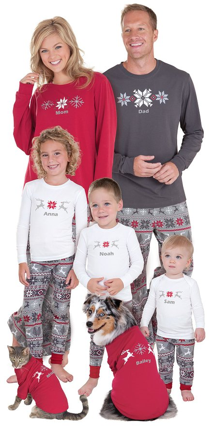Matching Nordic Family Pajamas