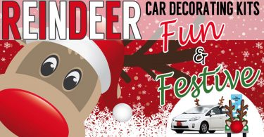 Spread Some Holiday Cheer With These Rudolph The Red Nosed Reindeer Car Decoration Kits That Are Fun And Festive