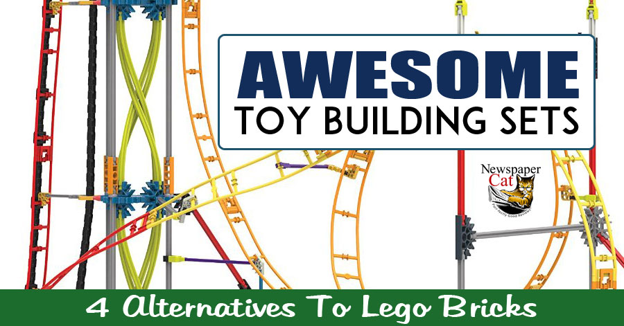 These 4 awesome toy building sets are great alternatives to lego bricks.