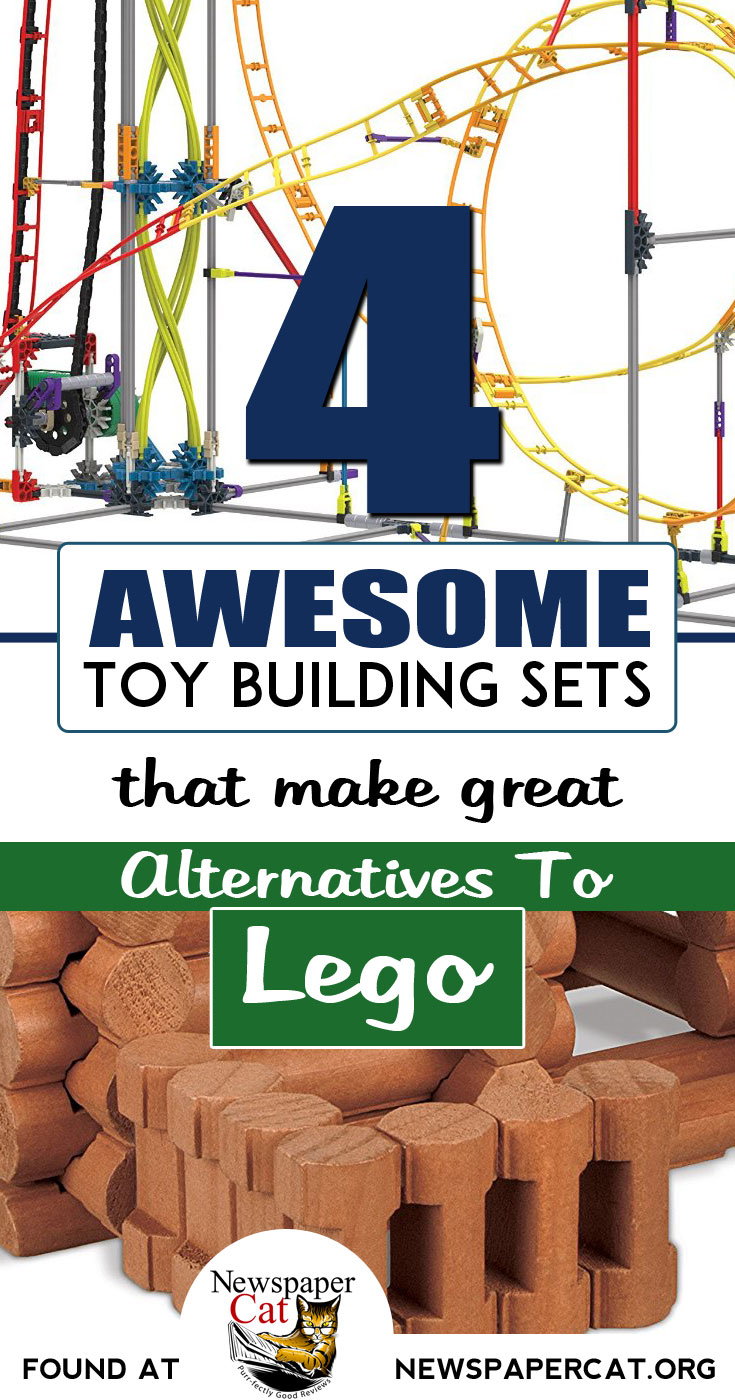 Are your kids tired of the same old Lego playsets? Here are 4 alternative building sets kids love!