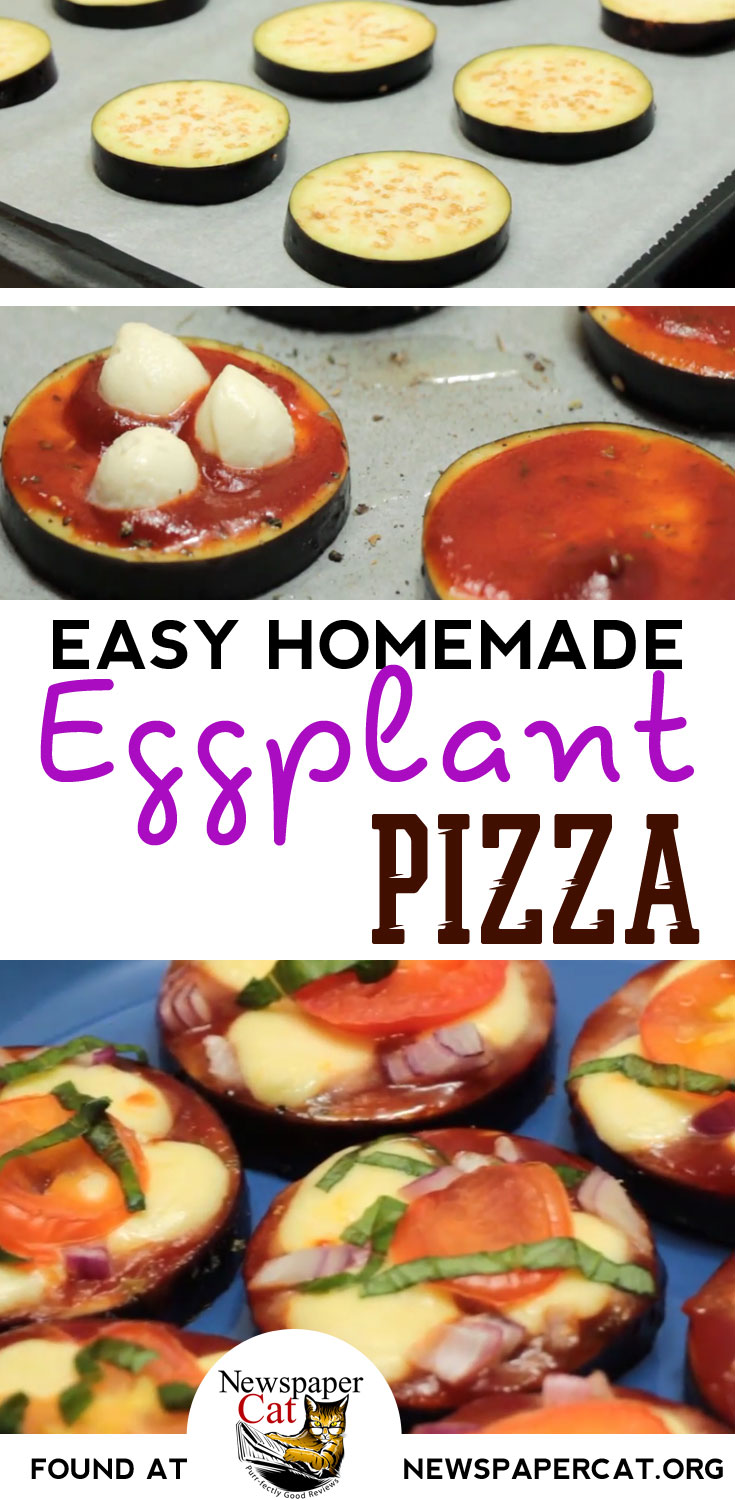 An Easy Vegetarian Eggplant Pizza Recipe You Can Make From Home - Healthy, Low Carb, And YUM!
