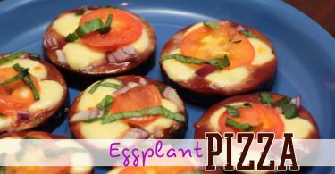 How To Make A Low Carb Eggplant Pizza