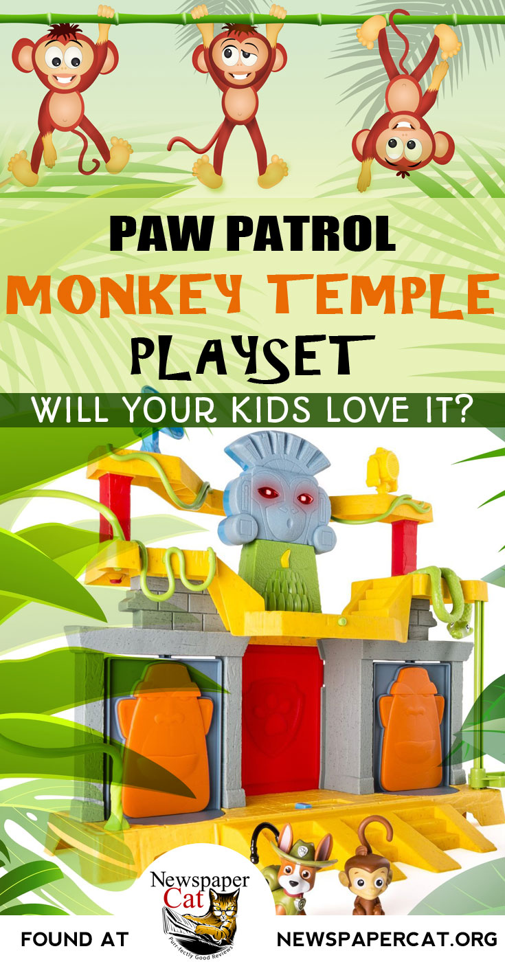 Will your kids love the Paw Patrol Monkey Temple Playset? Here's my take on it...