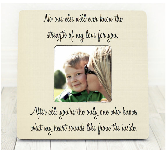 Personalized Mother's Day Photo Frame For New Moms