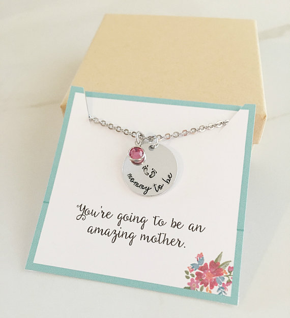 Expectant Mom Charm Necklace