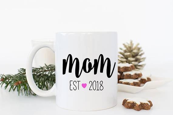 A Cute And Simple Coffee Mug For Mother's Day