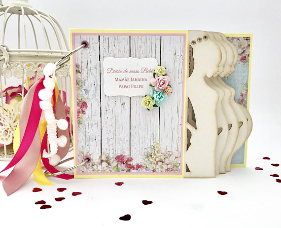 Personalized Pregnancy Journal For Expectant Mom