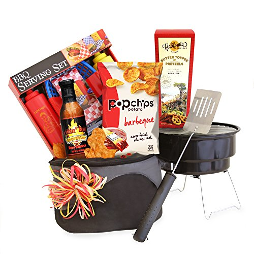 992a8577ae2fd Jim Beam   Jack Daniels Gourmet Grilling Gift Basket For Father s Day Found  Here – Throw in a bottle of Jack Daniel s Tennessee Whiskey and dad will be  all ...
