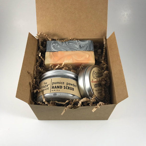 Father's Day Hand Scrub Gift Set