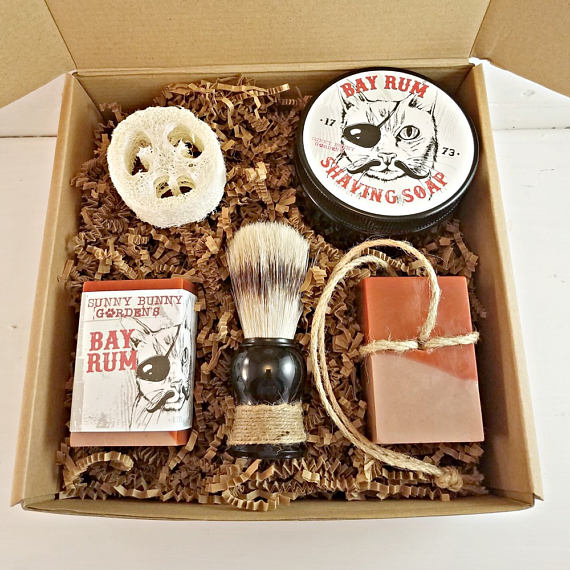 Bay Rum Scented Gift Box For Men