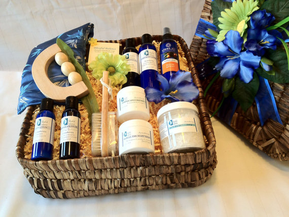 Spa Gift Basket For Father's Day