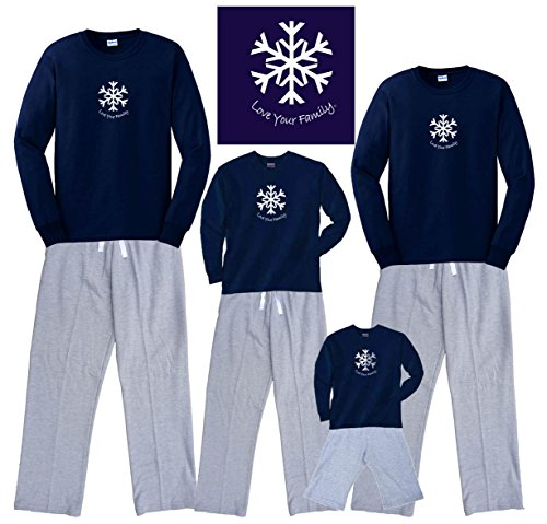 Family Christmas Pajamas Blue.Celebrate In Style With Christmas Pajamas For The Whole