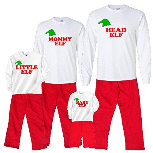 matching family elf pajamas found here - Elf Christmas Pajamas