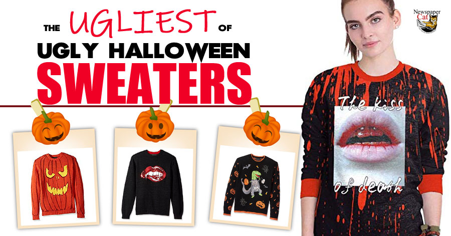 The best ugly Halloween sweaters you can show off this October.