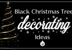 Best ideas for decorating a black Christmas tree this holiday season.