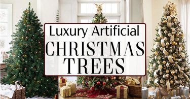 The best high end luxury artificial Christmas trees that will really wow this holiday season.