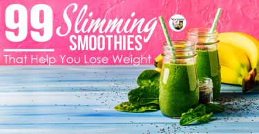 99 smoothies that help you lose weight, burn belly fat, and lower blood sugar.